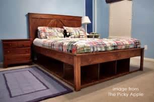 Diy Bed Frames Queen Queen Bed Frame Plans Bed Plans Diy Amp Blueprints