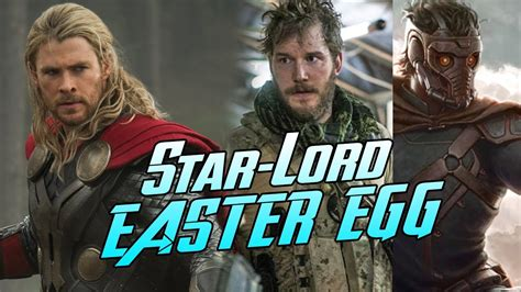 thor film easter eggs star lord easter egg in thor the dark world youtube