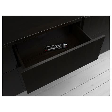 besta black brown best 197 drawer frame black brown 60x15x40 cm ikea