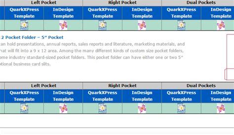 5 Pocket Folder Template Indesign Af Templates Folder Template Indesign