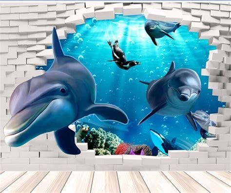 Sale Sticker 3d Besar dolphin backgrounds reviews shopping dolphin backgrounds reviews on aliexpress