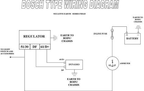 12 volt bosch regulator wiring diagram 12 get free image