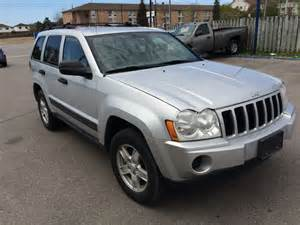 Jeep Laredo 2005 2005 Jeep Grand Laredo Oshawa Ontario Used Car