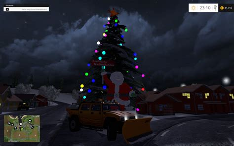 christmas v 2 0 for fs 15 mod download