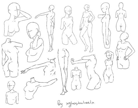 Drawing References Poses by Pose Reference 1 By Xghostwheelx On Deviantart