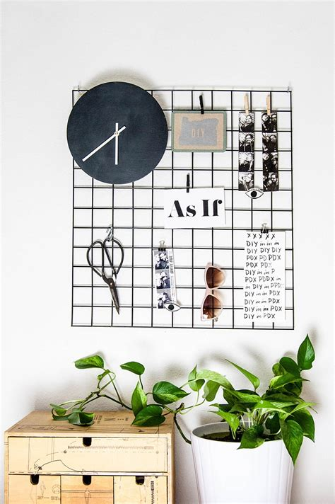 Kitchen Message Board Ideas simple and modern diys for the home homey oh my