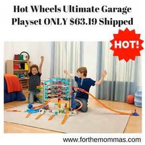 Hot Wheels Ultimate Garage Playset ONLY $63.19 Shipped   FTM