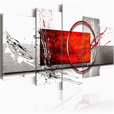 Incroyable Tableau Decoration Salon Pas Cher #1: toile-imprimee-tableau-abstrait-pas-cher.jpg