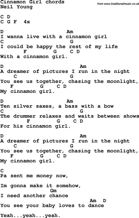 Lyrics Guitar Chords