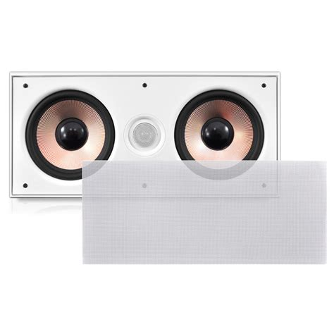 Ceiling Center Channel Speaker by Pylehome Pdiwcs62 Home And Office Speakers Sound