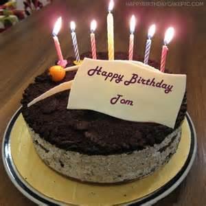 cute birthday cake tom