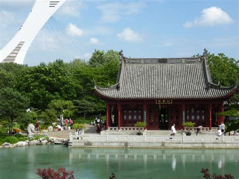 montreal botanical garden provides a breath of fresh air
