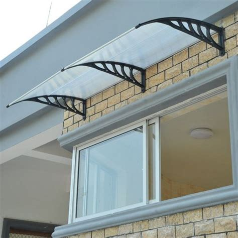 Window Shade Awning by Buy Homcom Porch Awning Cover Front Door Window