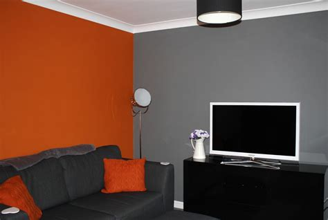 orange and gray living room grey and orange living room ideas astana apartments
