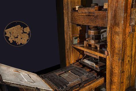 imagenes de imprentas antiguas y modernas photo gratuite presse gutenberg imprimerie image