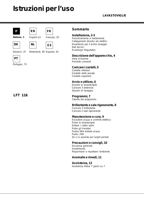 Page Hår hotpoint ariston lft 116 a ha r user manual 84 pages