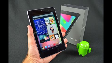 asus nexus 7 2012 nexus 7 tablet unboxing review
