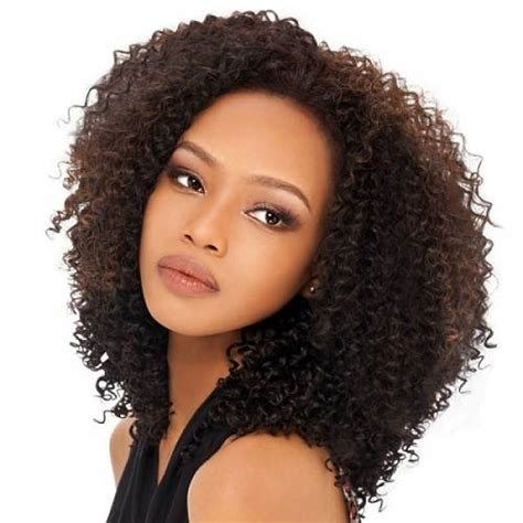 how to style an afro weave weaving hairstyles curls styles