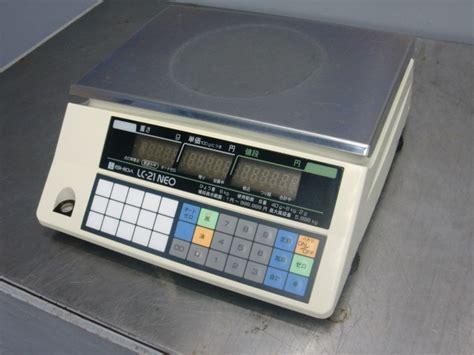Lc Neo イシダ lc 21 neo 電子ハカリ 02年 中古厨房機器 net