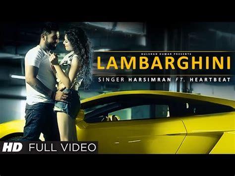 Gaddi Lamborghini Song Lamborghini Song Lyrics By Harsimran Punjabi Song