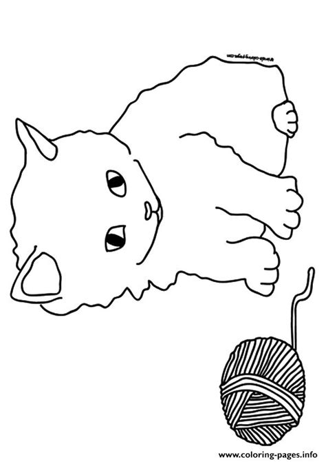 coloring page kittens playing the a kitten playing with the barn kitten coloring pages