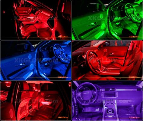 Interior Neon Lights For Trucks by 36 Led Car Interior Seat Dashboard Trunk Underglow