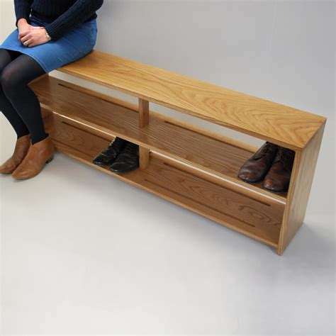 horseshoe bench oak shoe bench