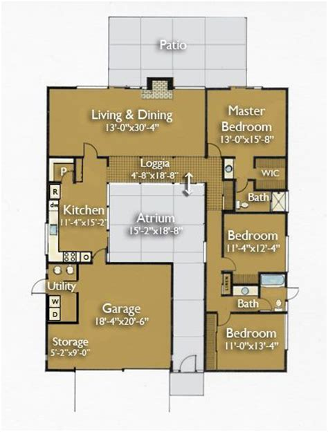 house plans with atrium in center original eichler house plans 1960s i ve always loved the