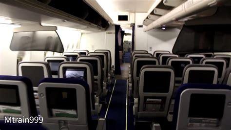 boeing 747 cabin lufthansa 747 400 cabin tour v2