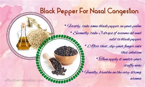 16 home remedies for nasal congestion in adults