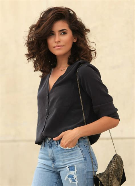 hairstyles on jeans all day chic ag jeans sazan