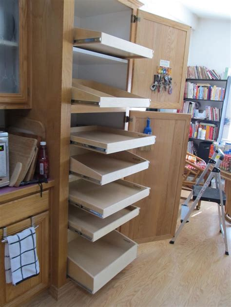 roll out shelves for existing cabinets 25 best ideas about roll out shelves on pinterest tall