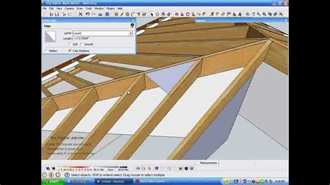 youtube rafter layout model and measure hip rafters de mystified by measuring in