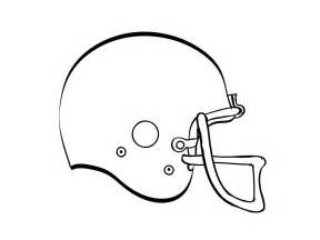 Football Helmet Outline Profile by How To Draw A Football Helmet Cliparts Co