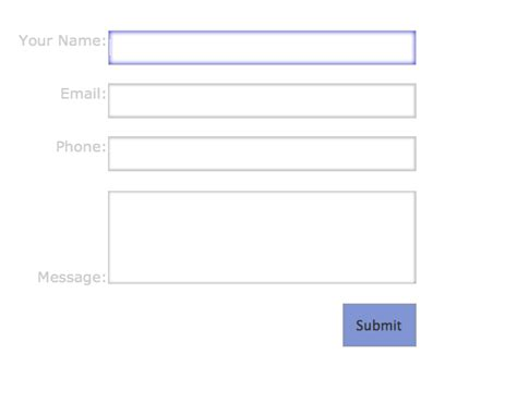 design form submit how to create and style forms in dreamweaver