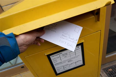 how to send a letter post hack or how to send a letter for free at aram bartholl