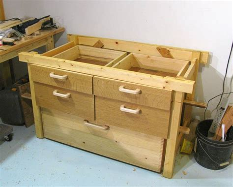 Check Your Drawers by Open Bottomed Workbench