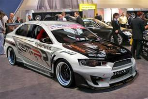 gallery for gt mitsubishi evo x modified white
