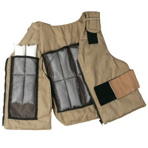 cooling vest cool vest replacement inserts set of 4 cool vest 174 chemical protective clothing