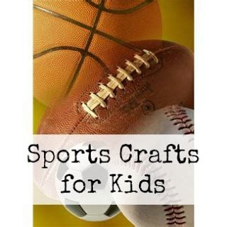 sports themed crafts for 17 best images about sports theme for preschoolers on