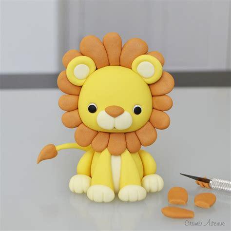porcelana fria lion lion tutorial fondanttorten tutorials pinterest