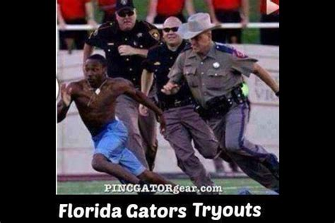Florida Gator Memes - florida gator tryouts lol seminoles pinterest football stuff and college football