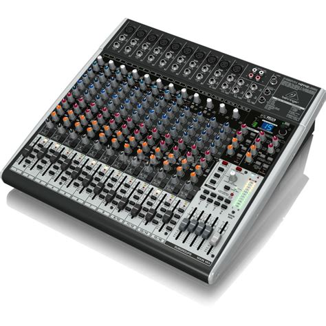 Mixer Audio Behringer 24 Channel behringer xenyx x2442usb 24 channel mixer with usb audio interface