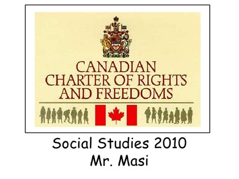 canadian charter of rights and freedoms section 1 canadian charter of rights and freedoms