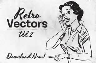 free retro vectors vol 2