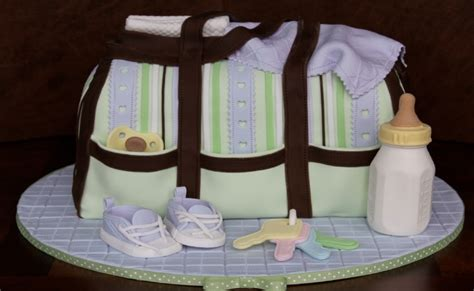 Shower Bag For Cing by Finest Baby Shower Cakes For Different Types Of