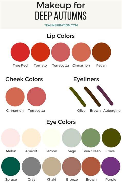deep autumn color palette best 25 deep autumn makeup ideas on pinterest deep