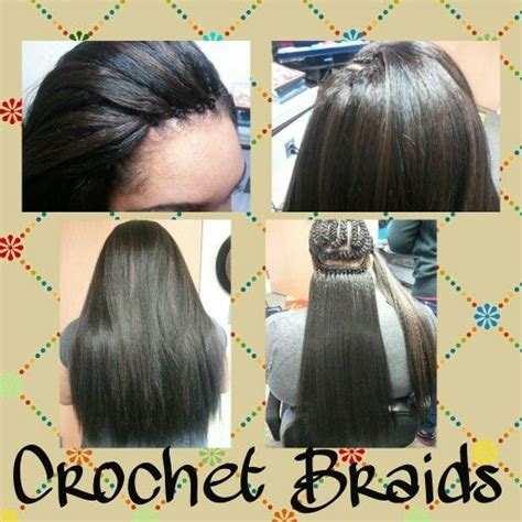hairstyles for straight hair diy 35 best crochet braids straight blowout images on