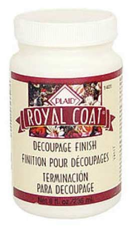 Royal Coat Decoupage Finish - royal coat decoupage satin finish glues mod podge