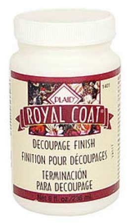 royal coat decoupage finish royal coat decoupage satin finish glues mod podge